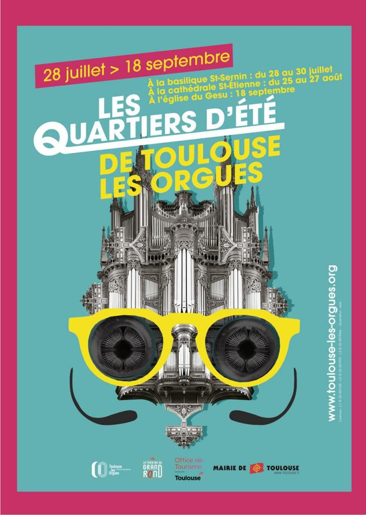 Quartiers d'été de Toulouse les Orgues 2021