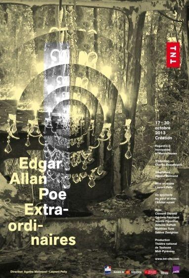 ThéâtredelaCité - Edgar Allan Poe