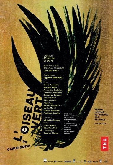ThéâtredelaCité - L'oiseau vert