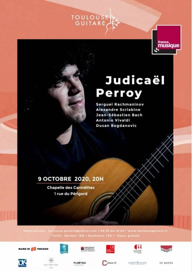 Toulouse Guitare - Judicaël Perroy