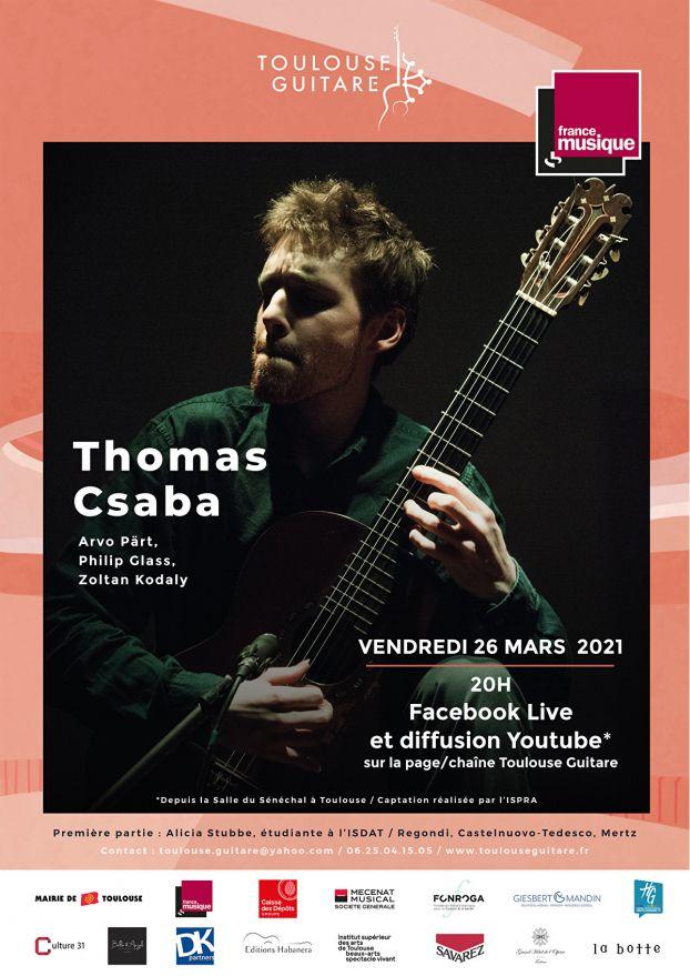 Toulouse Guitare - Thomas Csaba