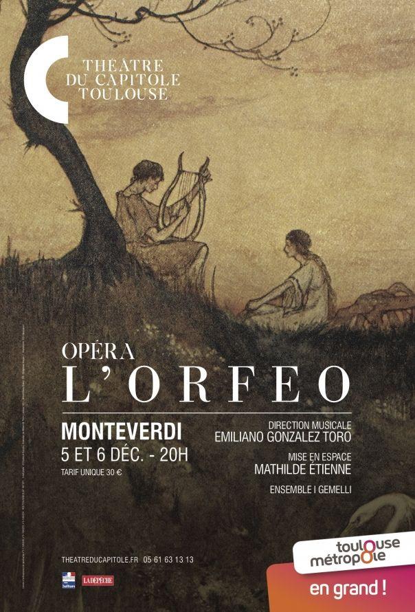 Théâtre du Capitole - L'Orphéo