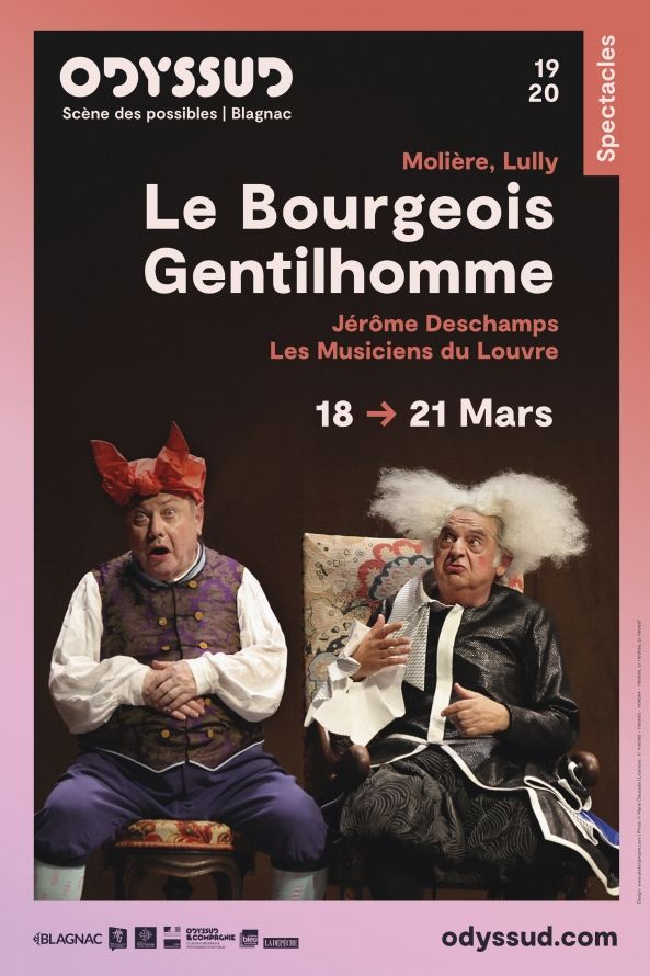 Odyssud - Le Bourgeois Gentilhomme