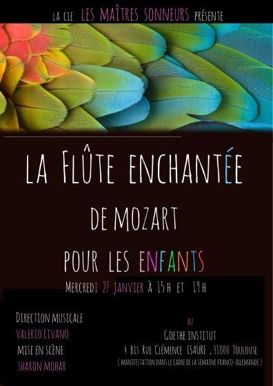 Goethe Institut - La flûte enchantée de Mozart pour les enfants