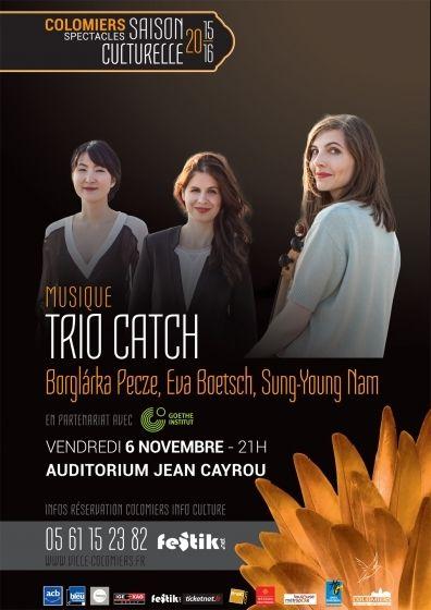 Goethe Institut - Trio Catch
