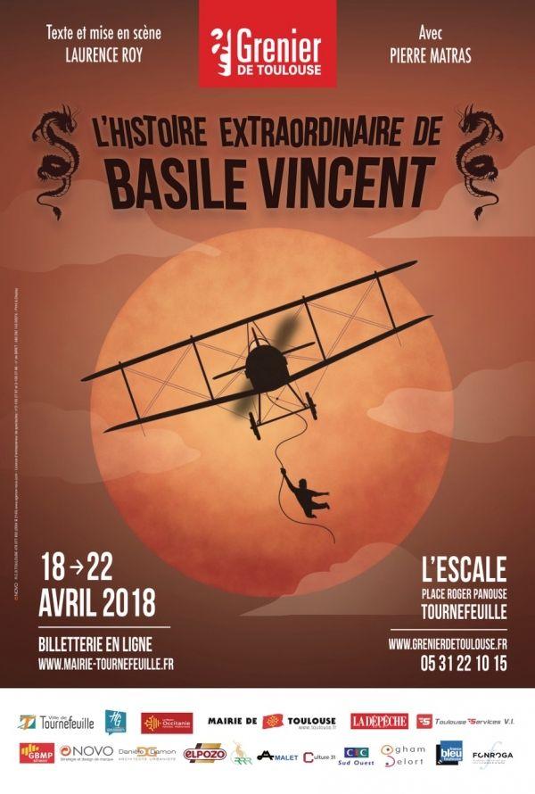 Grenier de Toulouse - L'histoire extraordinaire de Basile Vincent 2018