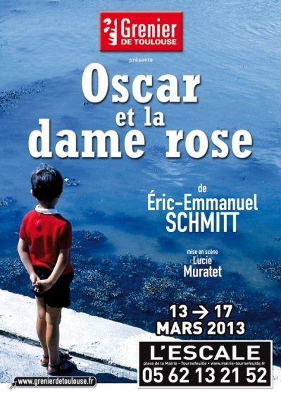 Grenier de Toulouse - Oscar et la dame rose