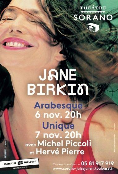 Théâtre Sorano - Jane Birkin