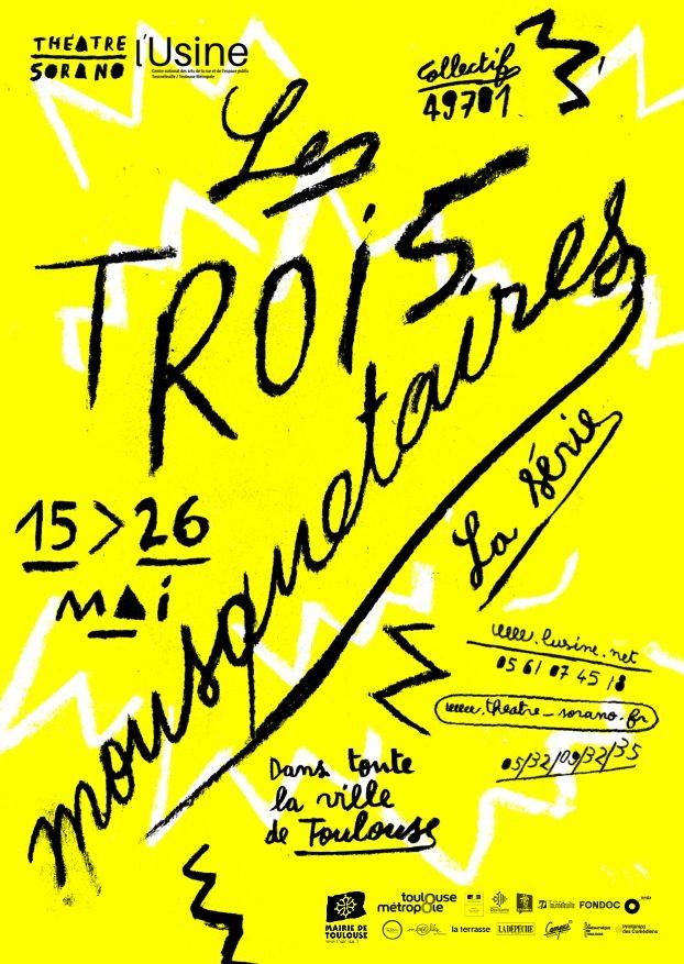 Théâtre Sorano - Les trois mousquetaires