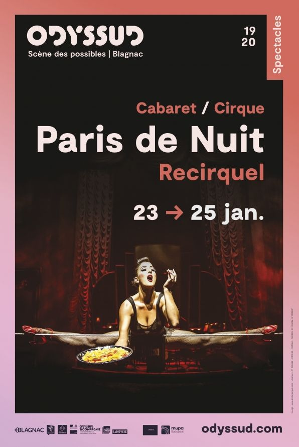 Odyssud - Paris de Nuit