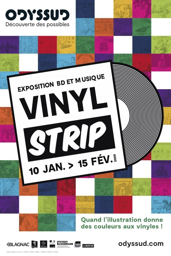 Odyssud - Vinyl Strip