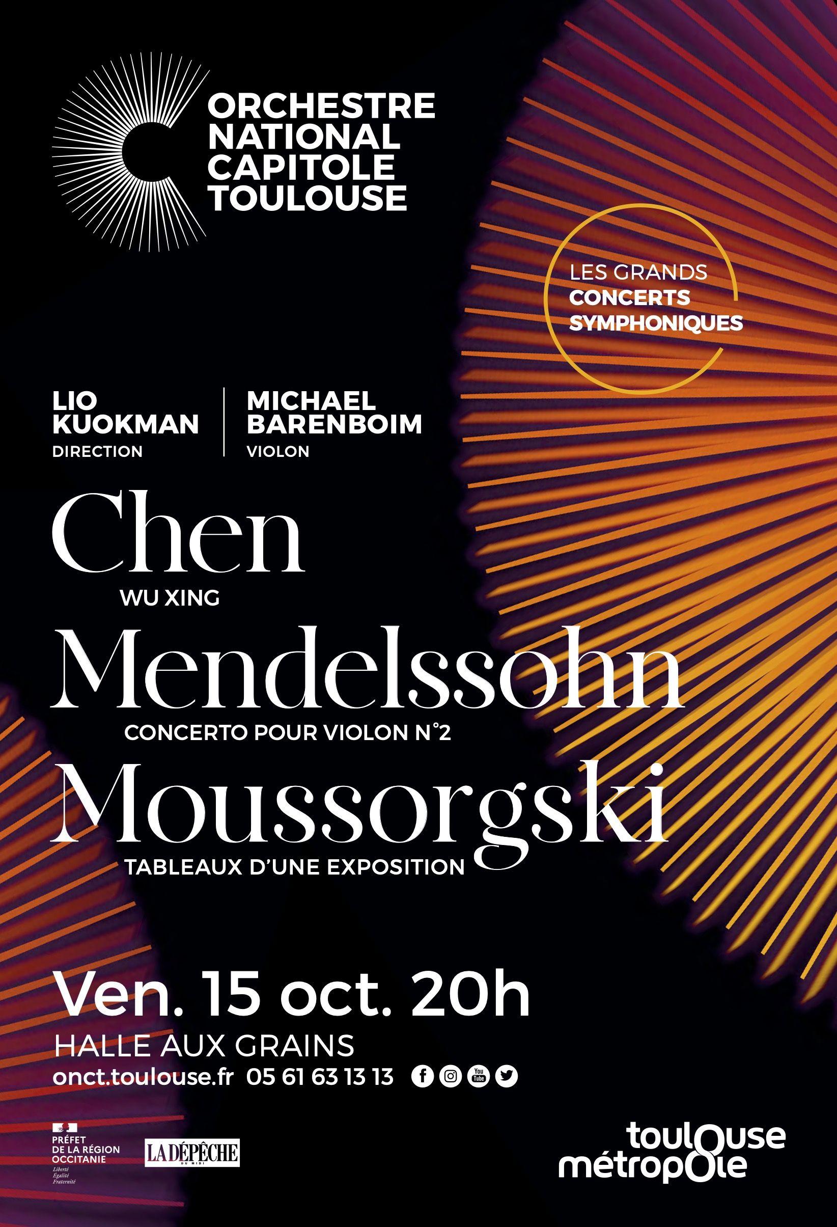 Orchestre national du Capitole - Lio Kuokman