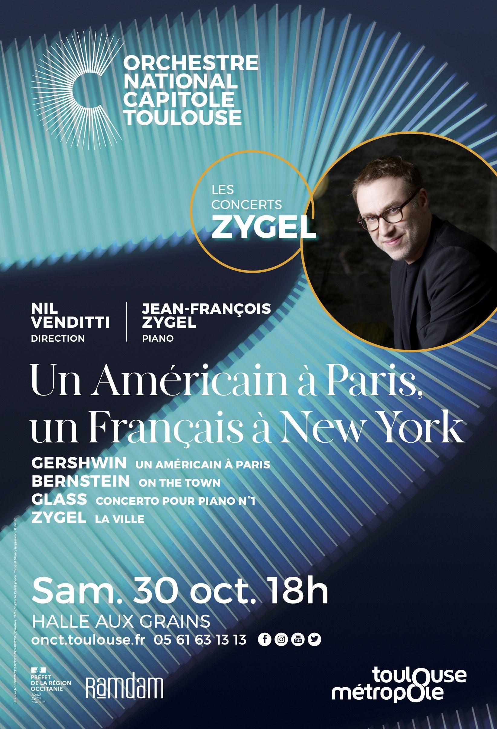 Orchestre national du Capitole - Concerts Zygel