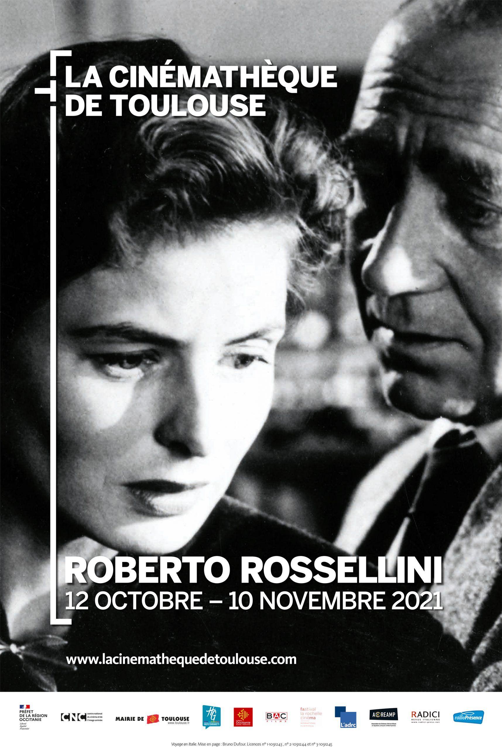 Cinémathèque de Toulouse - Roberto Rosselini