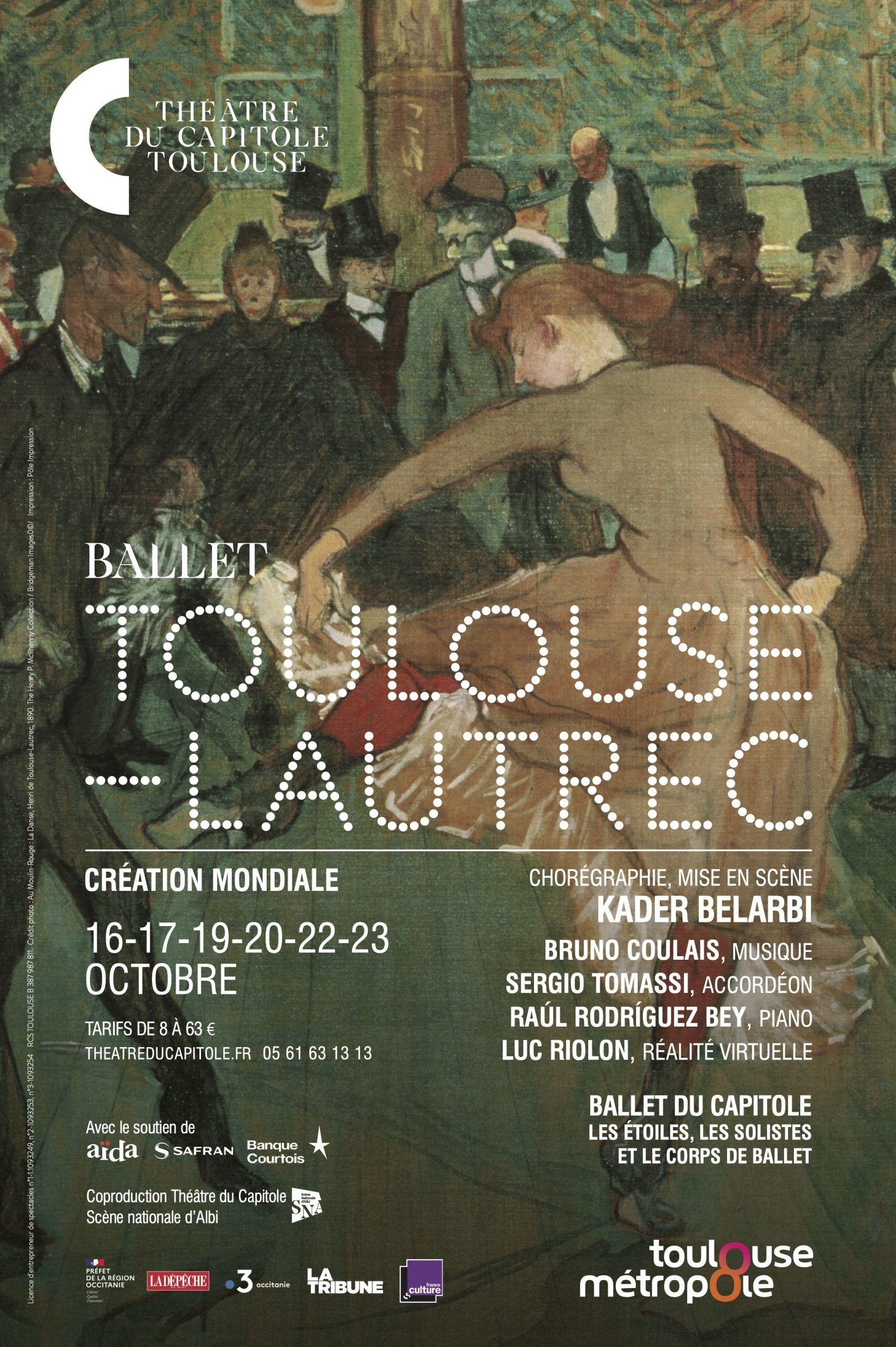 Théâtre du Capitole - Ballet Toulouse Lautrec