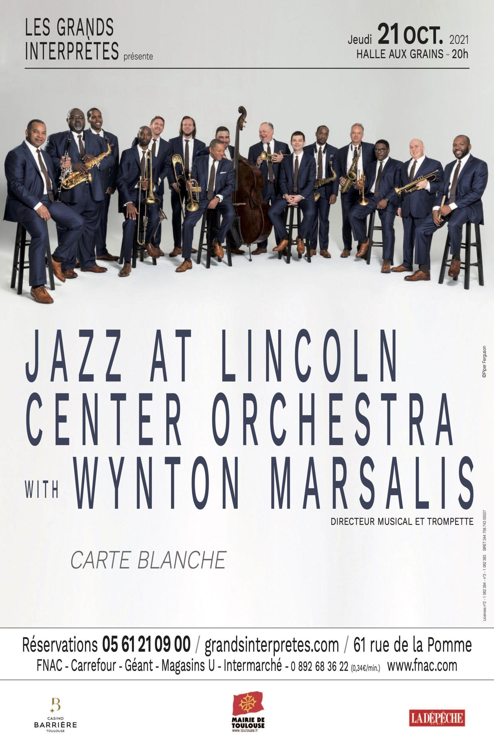 Les Grands Interprètes - Jazz at Lincoln With Wynton Marsalis