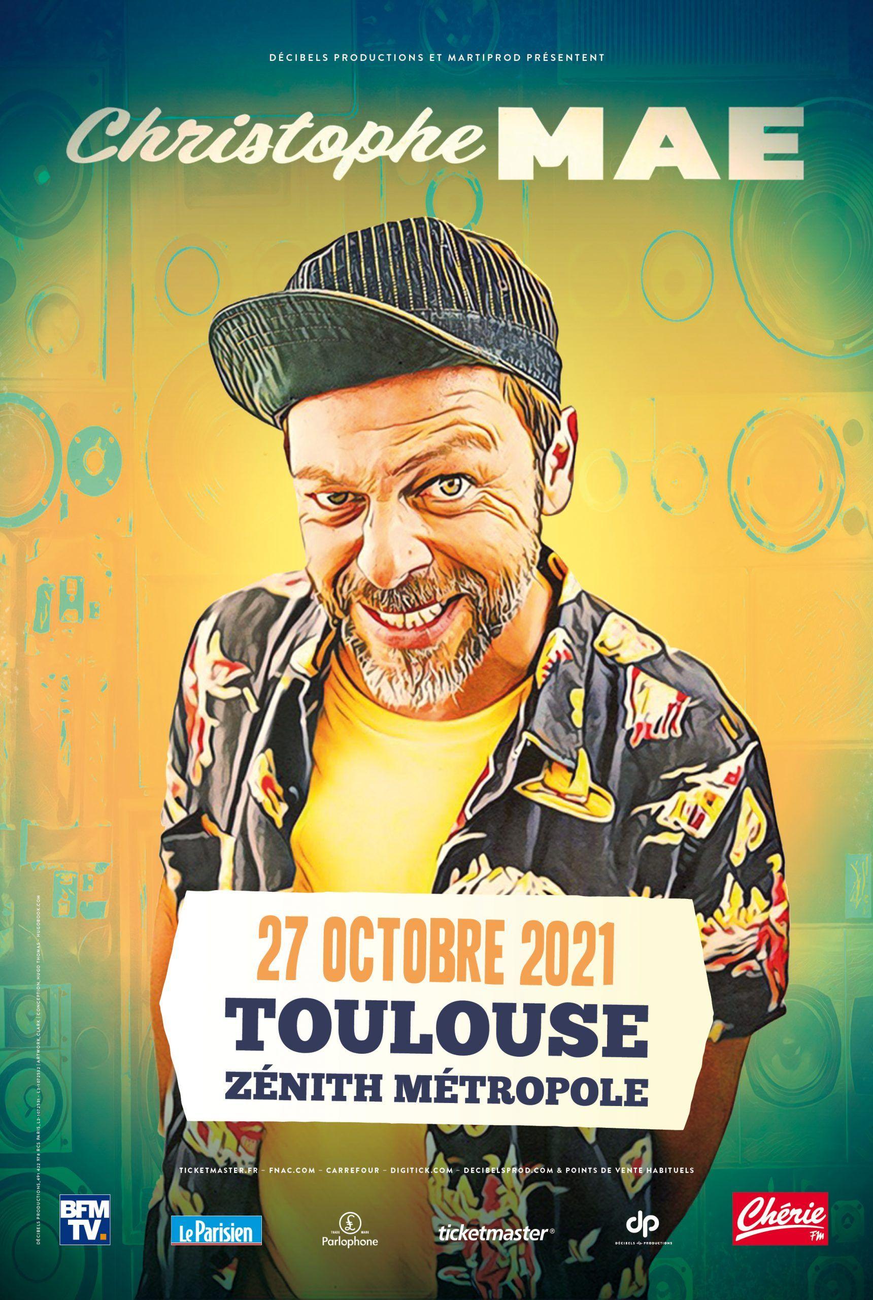 Zénith de Toulouse - Christophe Maé