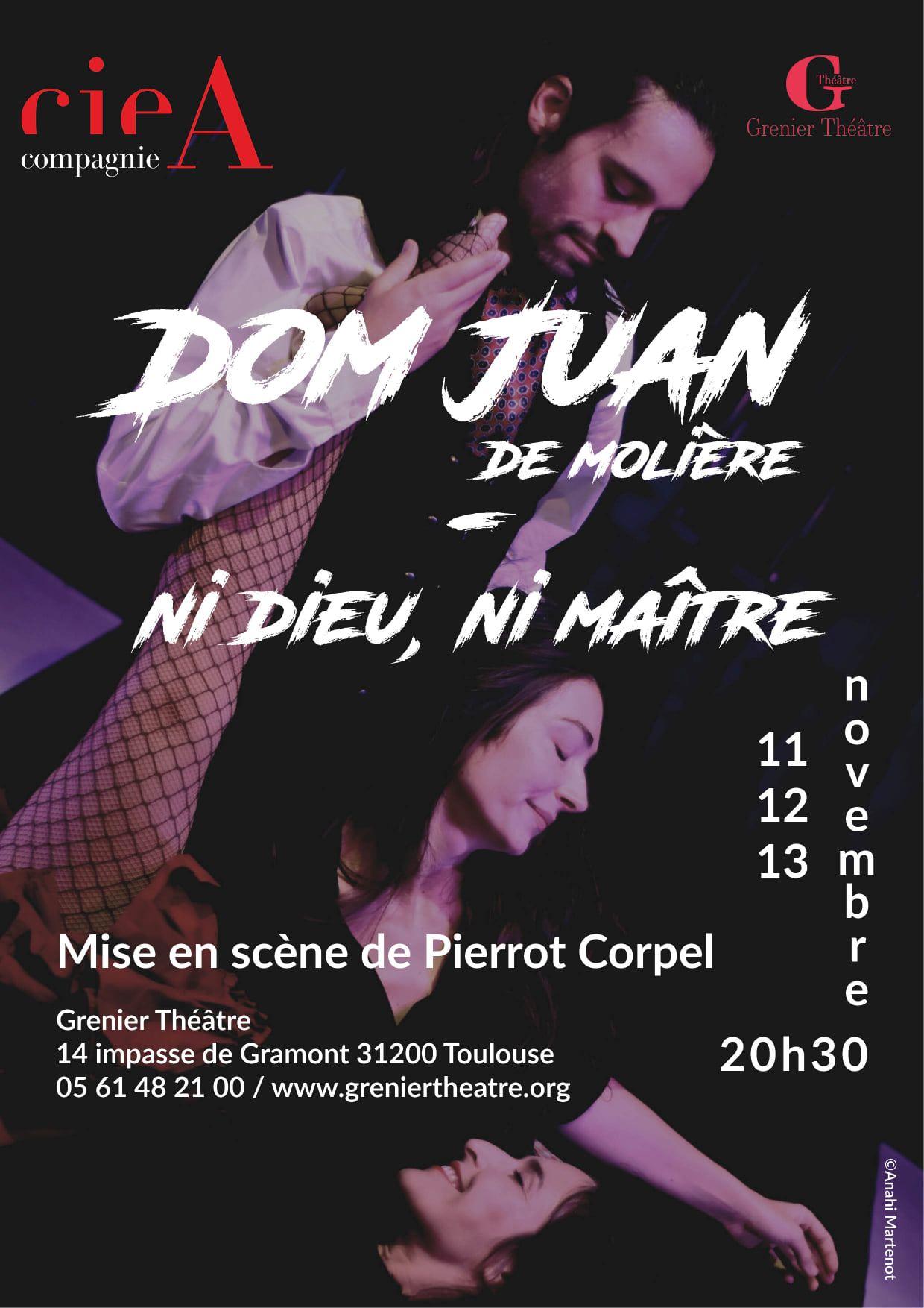 Grenier Théâtre - Dom Juan