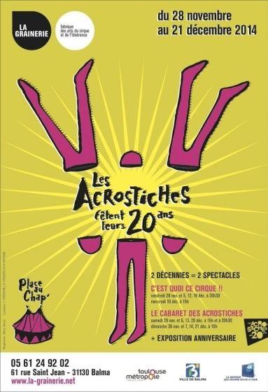 La Grainerie - Les Acrostiches 20 ans