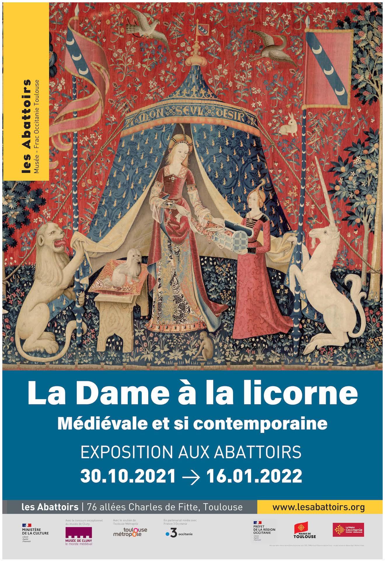 Les Abattoirs - La Dame à la licorne