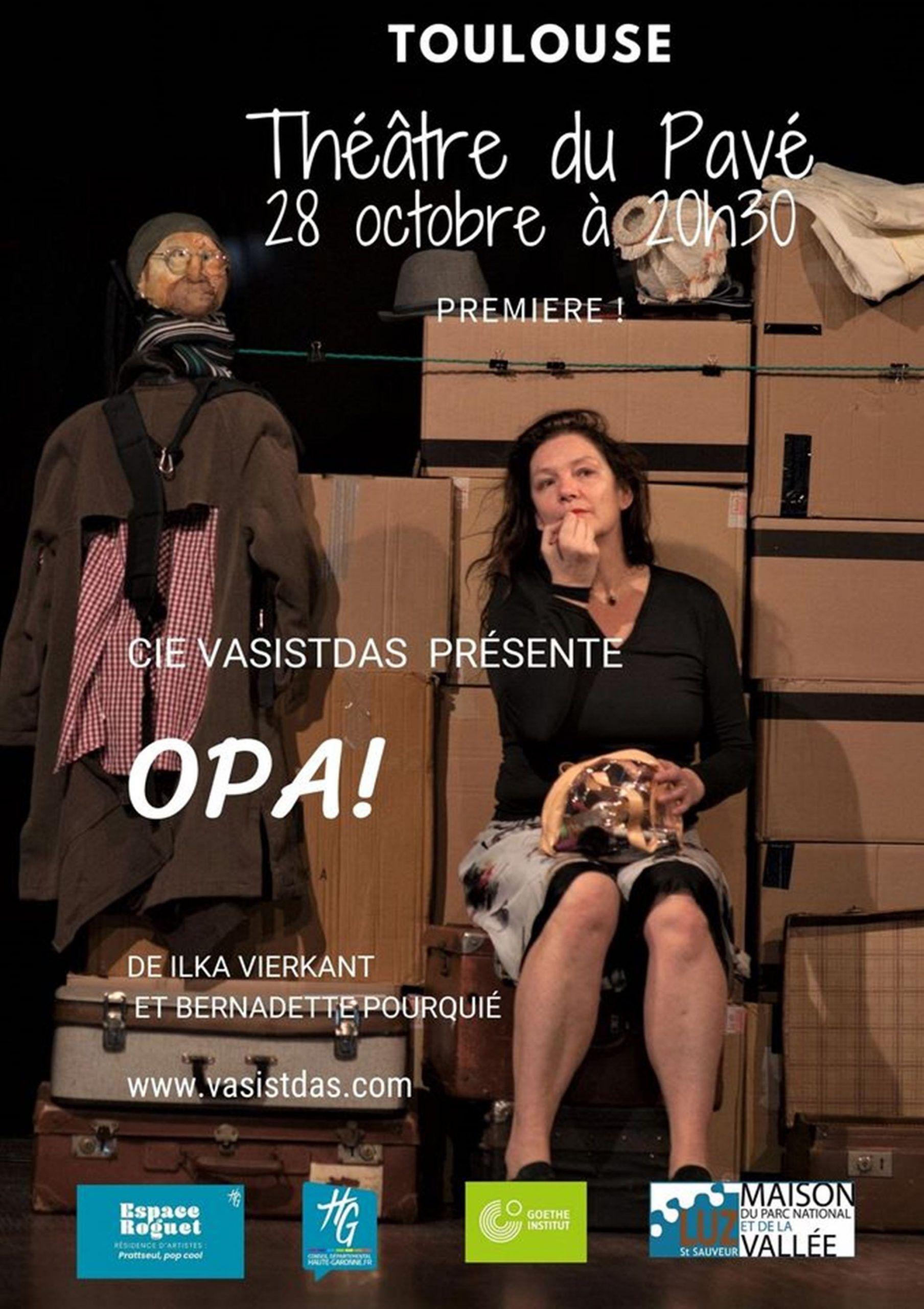 Théâtre du Pavé - OPA !