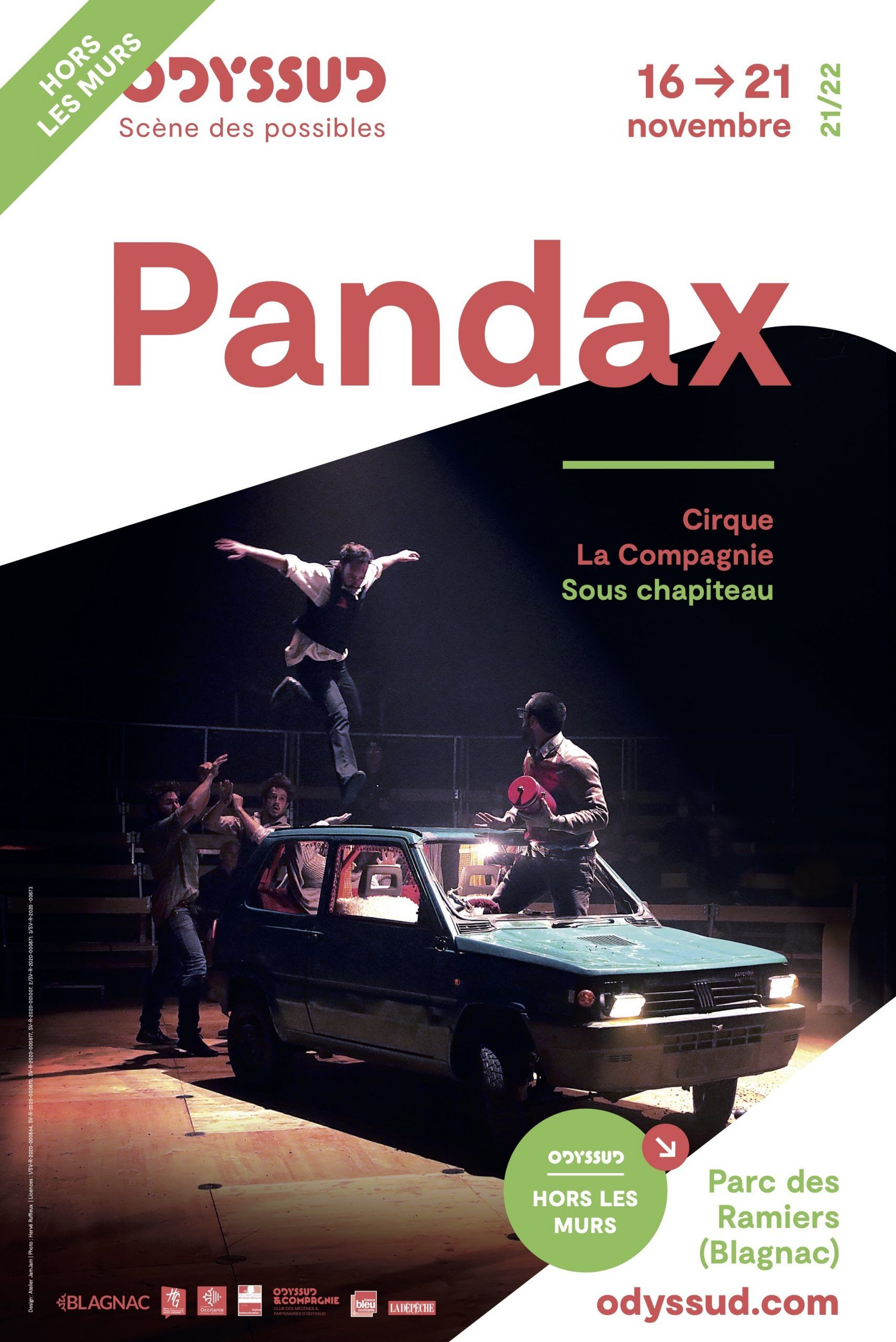 Odyssud - Pandax
