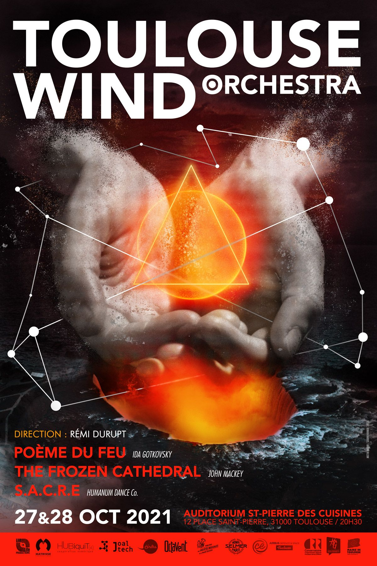 Toulouse Wind Orchestra - octobre 2021