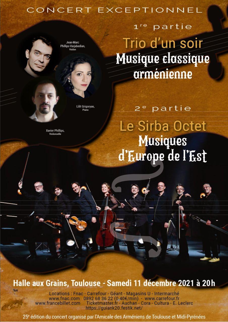 Amicale des Arméniens - Concert 2021