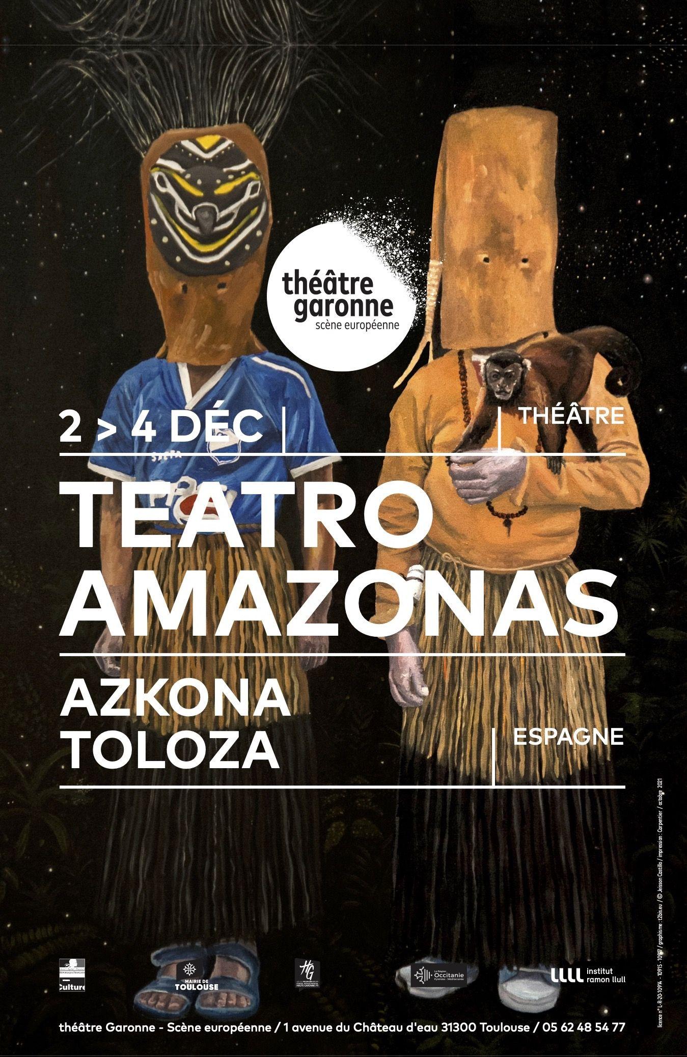 Théâtre Garonne - Teatro Amazonas